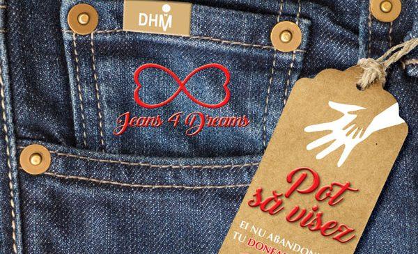Imnul campaniei Jeans4dreams®DHM, interpretat de Alessia Tofan
