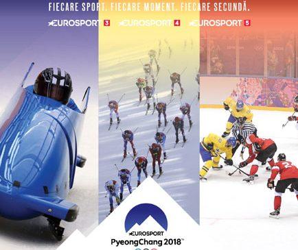 UPC România introduce 3 canale suplimentare în grila digitală: Experiența completă a Jocurilor Olimpice cu noile canale Eurosport 3, 4, 5, la UPC România