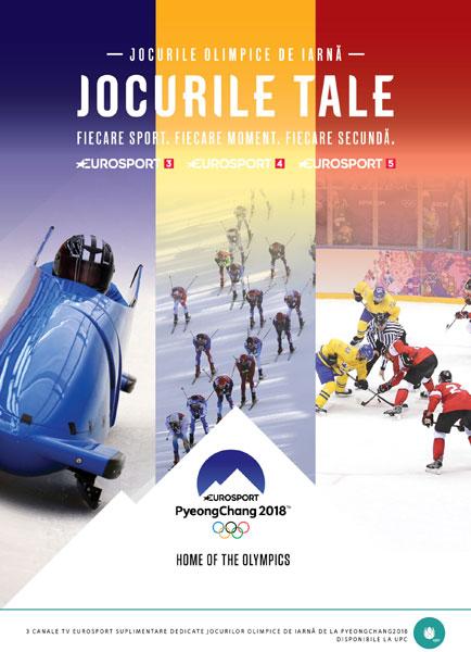 Jocurile Olimpice de Iarna, poster UPC