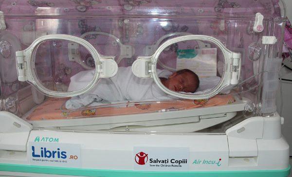 Libris.ro, la a 7-a dotare a unei maternități din România, alături de Salvați Copiii, la Alba Iulia