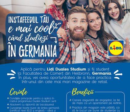 Lidl îi trimite pe liceenii români la studii în Germania