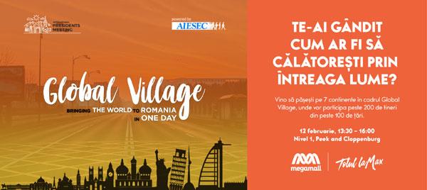 Mega Mall și AIESEC te invită să călătorești în jurul lumii