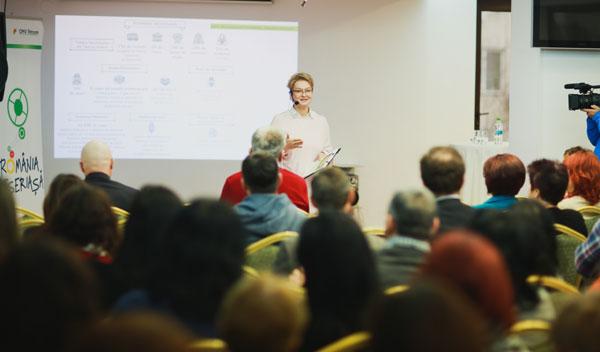 Mona Nicolici, Manager de Sustenabilitate OMV Petrom, lanseaza Liga Elevilor Meseriasi