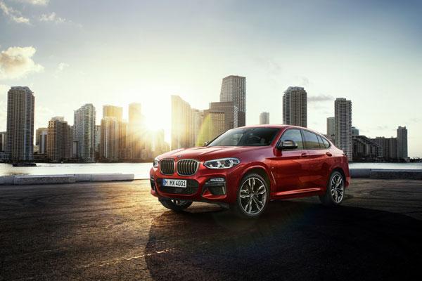 Noul BMW X4 M40d
