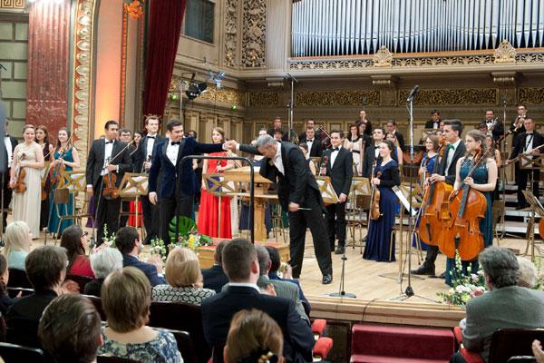 Orchestra Fundatiei Principesa Margareta a Romaniei la Concertul Regal