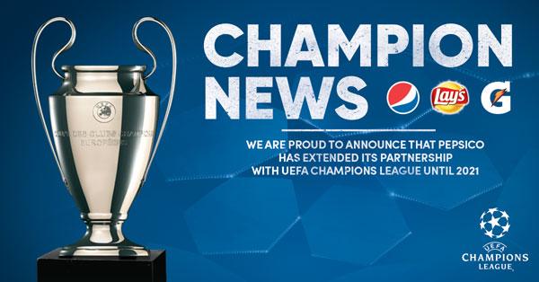 Parteneriat UEFA PepsiCo