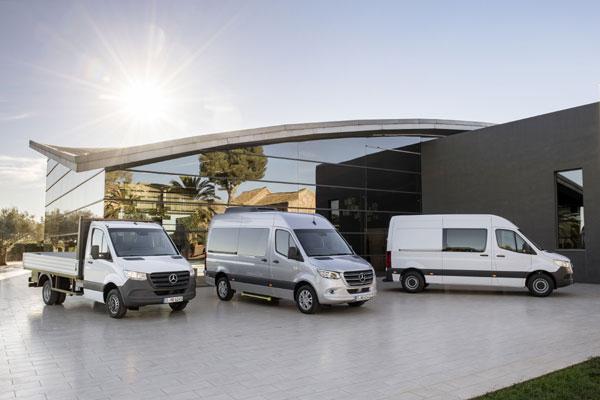 Premiera mondiala, A treia generatie Mercedes-Benz Sprinter