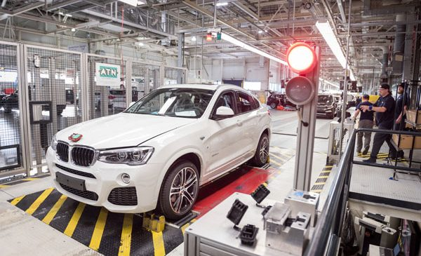Prima generaţie BMW X4 pe final de producţie