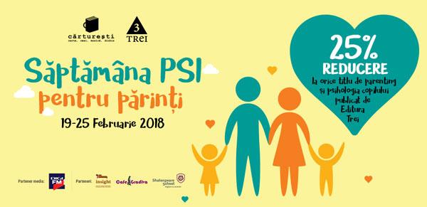 Săaptamana PSI pentru psrinti 19-25 februarie 2018