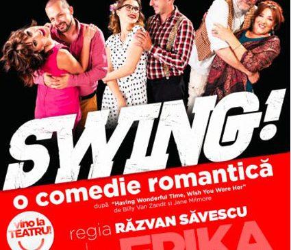 "De pe Broadway la București – ""Swing!"", o super comedie cu foarte mult… sex appeal"