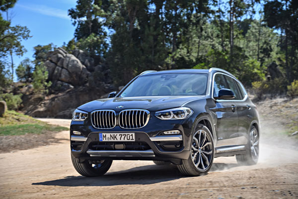 The new BMW X3 xDrive30d, Sophisto Grey Brilliant Effect metallic
