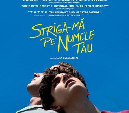 """Call Me By Your Name"" – candidat la Oscar, la cinema"
