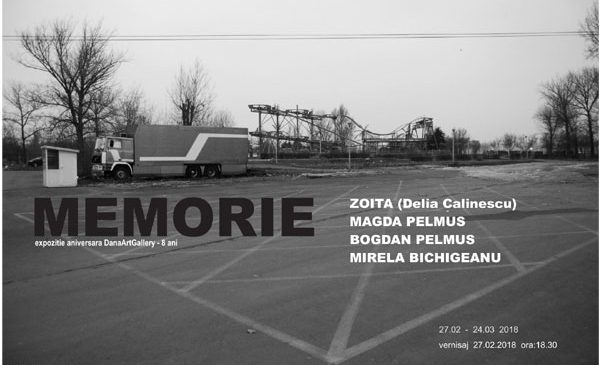 MEMORIE – Expoziție aniversară DanaArtGallery 8 ani – Galeria Odeon