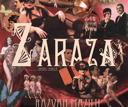 Spectacolul Zaraza, pe scena Teatrului Odeon