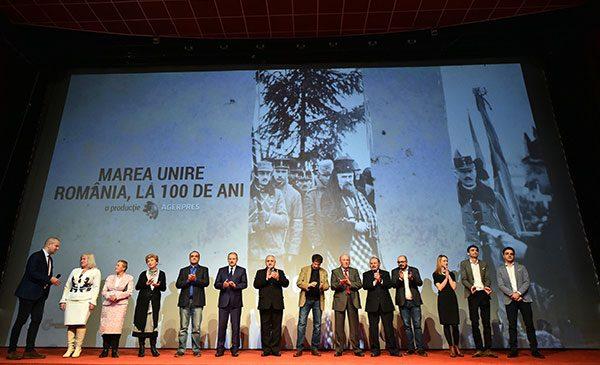 AGERPRES a lansat documentarul video Marea Unire – România, la 100 de ani