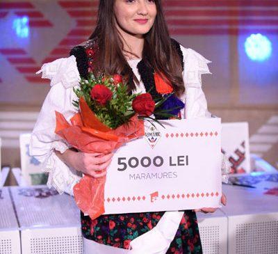 """Adriana Petrovan, câștigătoarea """"Ie, Românie"""" – Maramureș, își dorește să devină polițistă"""