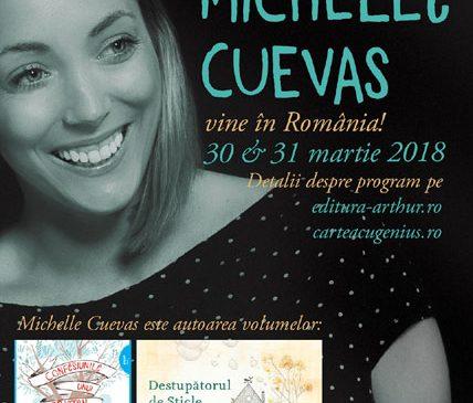Michelle Cuevas, îndrăgita autoare de cărți pentru copii, vine în România, la invitația Grupului Editorial ART