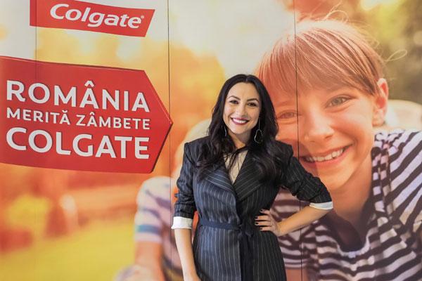 Andra Maruta, Ambasador campania Romania merita zambete Colgate