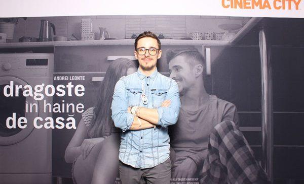 Muzica lui Andrei Leonte se aude mai bine la Cinema City