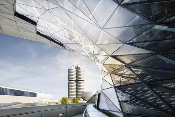BMW Group Headquarters and BMW Welt