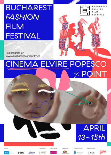 Bucharest Fashion Film Festival poster