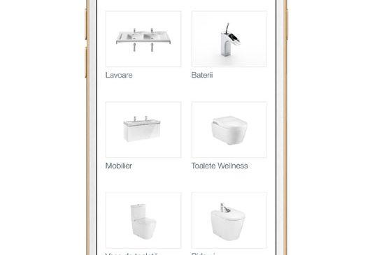 Întregul catalog de produse Roca, acum disponibil și într-o nouă aplicație pentru smartphone-uri și tablete