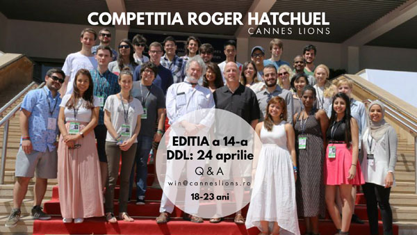 Competitia Roger Hatchuel Academy 2018