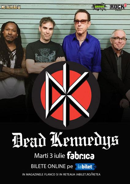 Concert Dead Kennedys 3 iulie