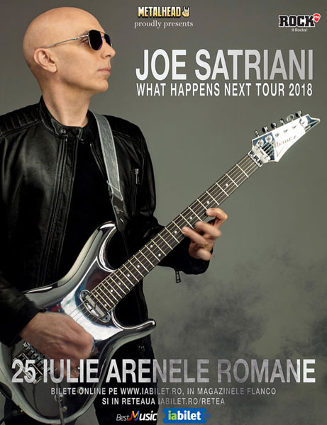 Concert Joe Satrian, 25 iulie