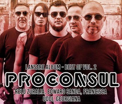 Concert Proconsul: lansare de album cu invitați speciali la Hard Rock Cafe pe 5 aprilie