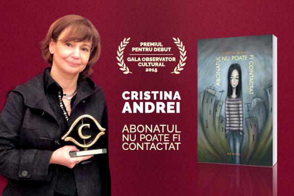 Cristina Andrei la festivalul Orasul si Literatura