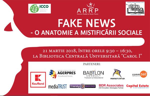 Fake News, O anatomie a mistificarii sociale