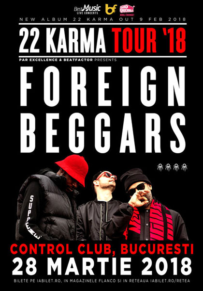 Foreign Beggars, Club Control, 28 martie