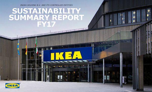 IKEA Group (INGKA Holding B.V. și entitățile sale controlate) lansează Sustainability Summary Report pentru anul financiar 2017¹