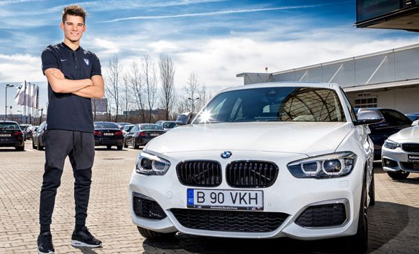 Hot hatch BMW M Performance pentru Ianis Hagi
