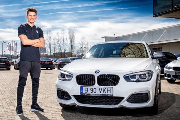 Ianis Hagi receives a BMW M140i xDrive