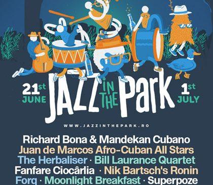 Jazz in the Park anunță 13 nume de top din jazz-ul contemporan. Trei dintre trupe au câștigat premii Grammy