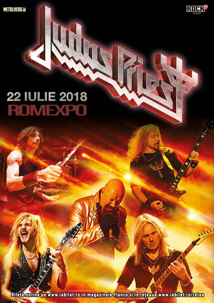 Judas Priest 22 iulie