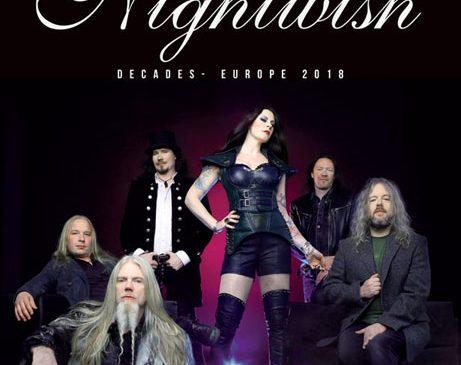 Nightwish sarbatoresc 20 de ani la Bucuresti pe 17 august