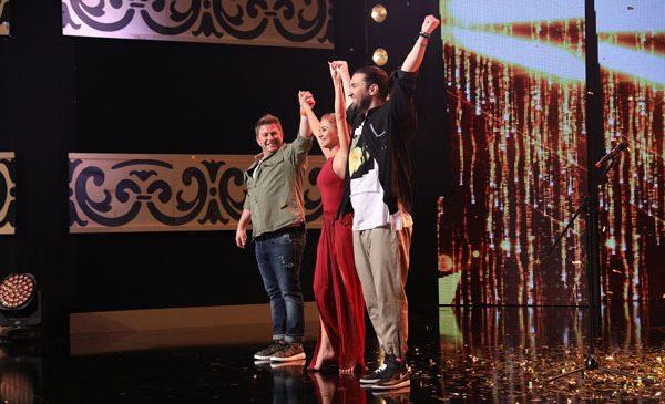 Smiley și Pavel Bartoș au apăsat aseară cel de-al patrulea golden buzz al sezonului 8 Românii au talent!
