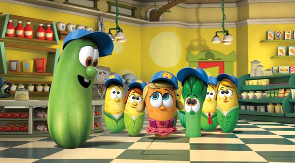 Povesti cu legume. In casa.