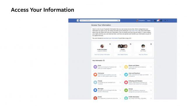 Facebook: Protecţia datelor personale devine acum mai simplă