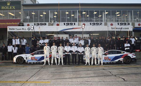 Noul BMW M8 GTE a obţinut prima sa clasare pe podium la Sebring