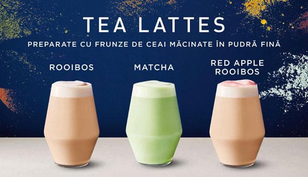 Tea Lattes