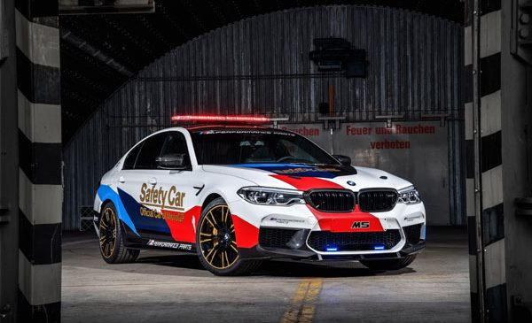 "Al 20-lea an ""Official Car of MotoGP™"" pentru BMW M"