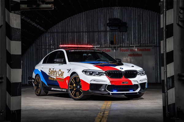 The BMW M5 MotoGP Safety Car