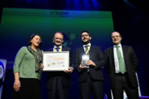 Turda Sustainable Urban Mobility Planning, SUMP, Award