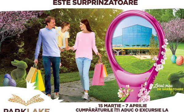 ParkLake lansează campania de Paște și oferă vouchere de cumpărături în valoare totală de 175.000 de lei și o vacanță la Disneyland