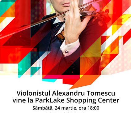 De ziua Radio România Muzical, violonistul Alexandru Tomescu cântă la ParkLake Shopping Center din București, iar în Librăriile Cărturești și Humanitas este Ziua muzicii clasice