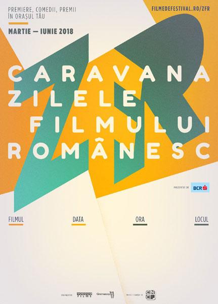 afis Zilele Filmului Romanesc 2018